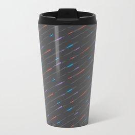 Charcoal Amaretta Rain Metal Travel Mug