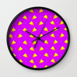 Chips & Peas Wall Clock