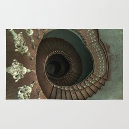 Ornamented spiral staircase Rug