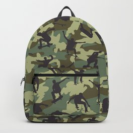 Skater Camo WOODLAND Backpack