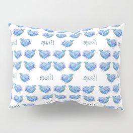 Blue Quail Pillow Sham