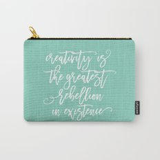 creativity rebellion Carry-All Pouch