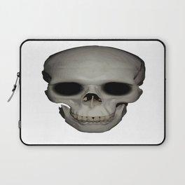 Human Skull Vector Isolated Laptop Sleeve
