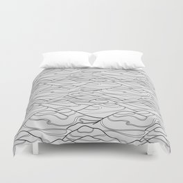 Serpentines Duvet Cover
