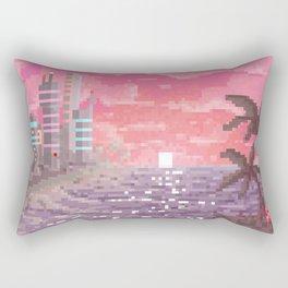 8-bit Bay Rectangular Pillow