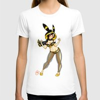 umbreon T-shirts featuring Umbreon (Jessica Nigri) by MaxGunner44