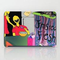 in the flesh iPad Cases featuring Frosted Flesh by Masmantha