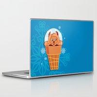 kitten Laptop & iPad Skins featuring Kitten by Lanka69
