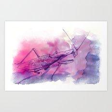 Mantis P. Art Print