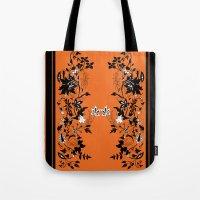 baroque Tote Bags featuring baroque by Maria Fernanda Furtado