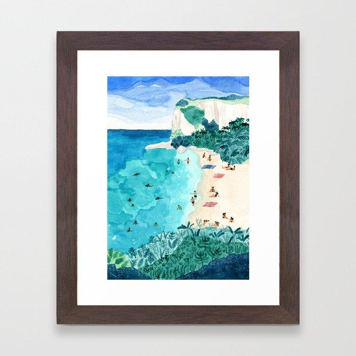 Coromandel Framed Art Print
