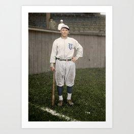 Player with the Vancouver Beavers baseball team, Vancouver, 1919 Art Print