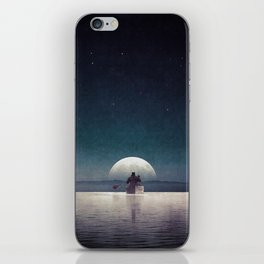 Silent wish... iPhone Skin