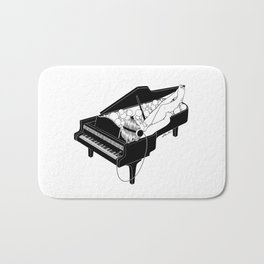 Turn on the music, Turn off your mind Bath Mat