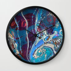 Midnight Marble Wall Clock
