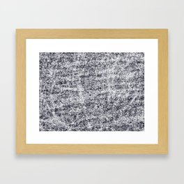 The Whole Universe On a Chalkboard Framed Art Print