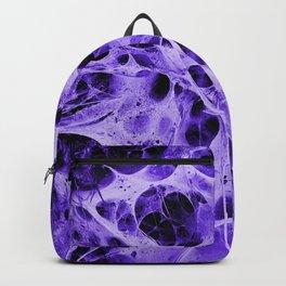 purple web Backpack