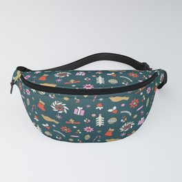 Holiday Pop Green Fanny Pack