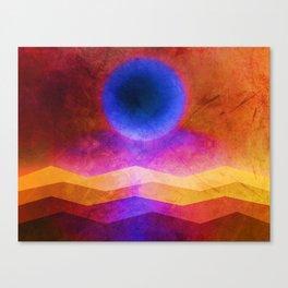 Sea Moon Canvas Print