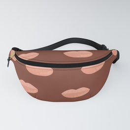 Thick Glossy Kissable Lips pattern Fanny Pack