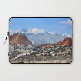 Snow at the Garden of the Gods, Colorado Springs Laptop Sleeve