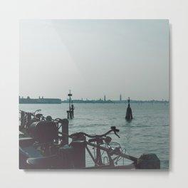 Lido Island, Venice Metal Print
