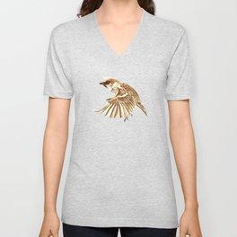 Flying Sparrow 2012 Unisex V-Neck