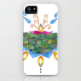 Mandala Flower iPhone Case