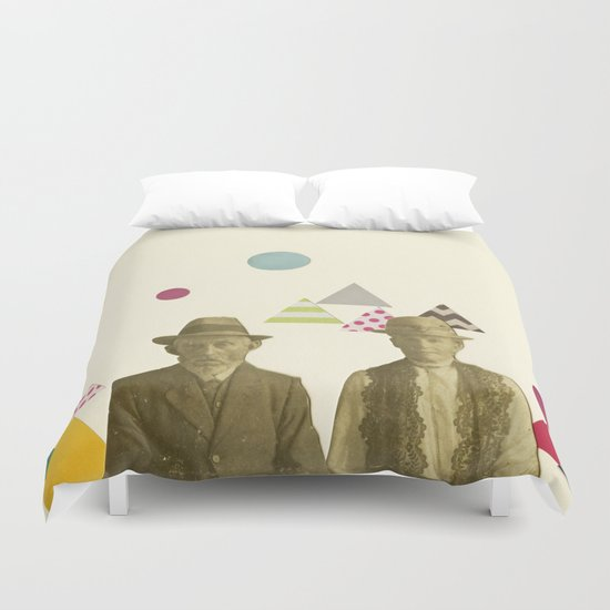 Childhood Sweethearts Duvet Cover