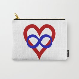 Polyamory Pride Heart Carry-All Pouch