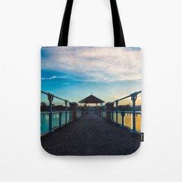 Reservoir at Sunset Tote Bag