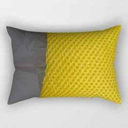 YELLOW ABSTRACT no1 Rectangular Pillow