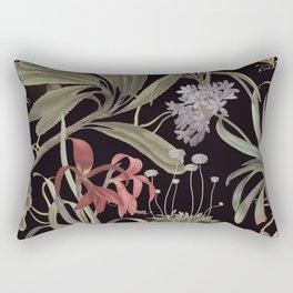 Dark Botanicals (pillow variant) Rectangular Pillow