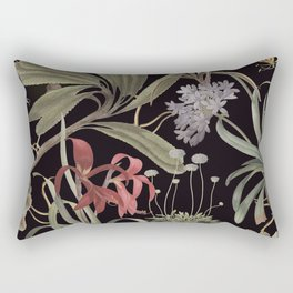 Dark Botanicals (pillow variant) Rectangular Pillow