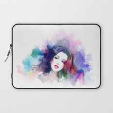 Beauty colored girl Laptop Sleeve