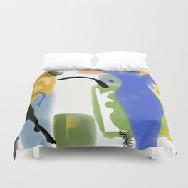 Ode to Matisse Duvet Cover