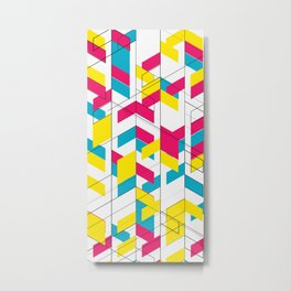 color+space Metal Print