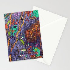 The Pizza Mine Stationery Cards