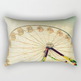 funtastic wheel Rectangular Pillow