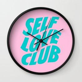 self love club Wall Clock