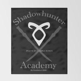 Shadowhunter Academy Throw Blanket