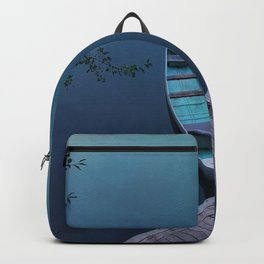 Blue Canoe Backpack