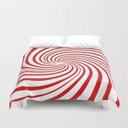 Peppermint Swirl  Duvet Cover