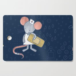 Mouse Nurse Here to Help You Cutting Board
