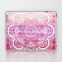 Water Mandala Hot Pink Fuchsia Laptop & iPad Skin
