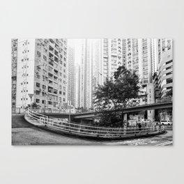 Central, Hong Kong Canvas Print