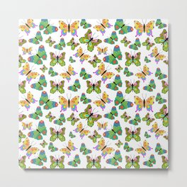 Butterflies in harmony Metal Print