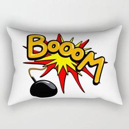 Boom! Rectangular Pillow
