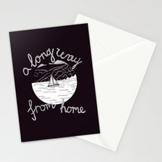 A Long Way From Home Stationery Cards