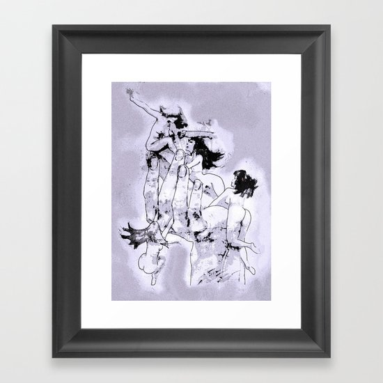 Famous Hand Framed Art Print